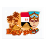Egyptian queen cleopatra Postcard