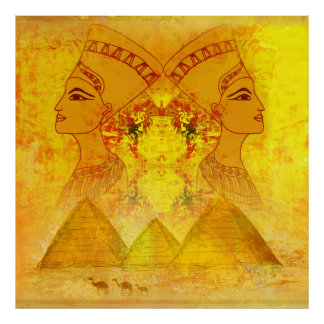 Egyptian queen Cleopatra Poster