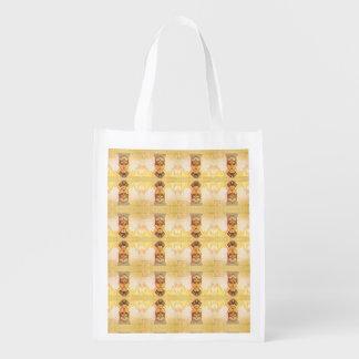 Egyptian queen Cleopatra Reusable Grocery Bag
