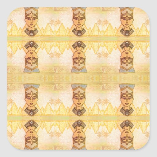 Egyptian queen Cleopatra Sticker Sticker