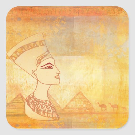Egyptian queen Cleopatra Sticker