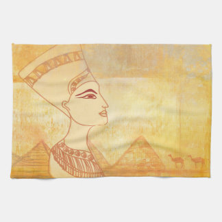 Egyptian queen Cleopatra TeaTowels Hand Towels