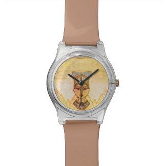 Egyptian queen Cleopatra watch