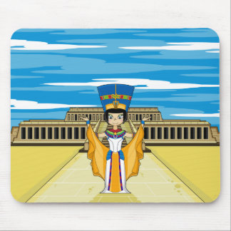 Egyptian Queen Nefertiti at Hatshepsut Mouse Pad