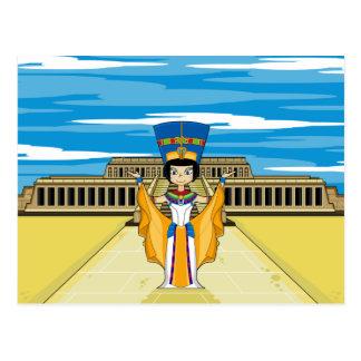 Egyptian Queen Nefertiti at Hatshepsut Postcard