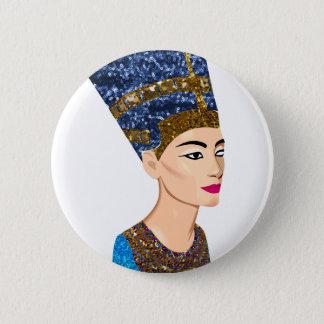 egyptian queen nefertiti button