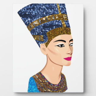 egyptian queen nefertiti plaque