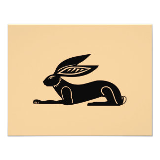 Egyptian Rabbit Card
