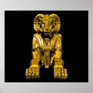 Egyptian Ram Poster