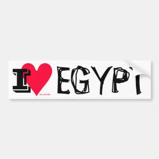 Egyptian Revolution - I Love Egypt (Masr) Bumper Sticker