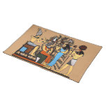 Egyptian Royalty Cloth Place Mat