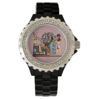 Egyptian Royalty Rhinestone Watch