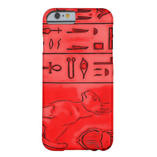 Egyptian Ruby Pharaoh Temple Barely There iPhone 6 Case