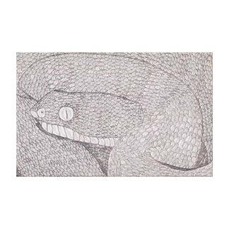 Egyptian Saw-Scaled Viper (Echis pyramidum) Canvas Print