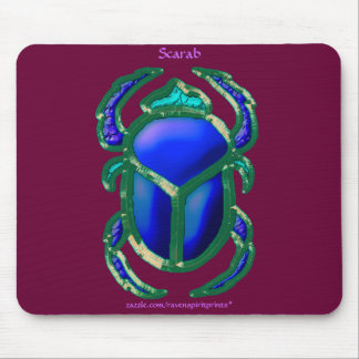 EGYPTIAN SCARAB BEETLE Collection Mouse Pad