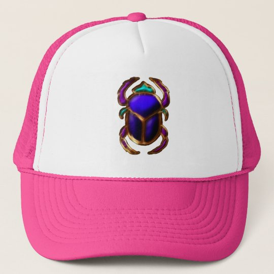 EGYPTIAN SCARAB BEETLE Collection Trucker Hat