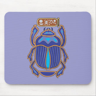 Egyptian Scarab Dung Dung Beetle Mouse Pad