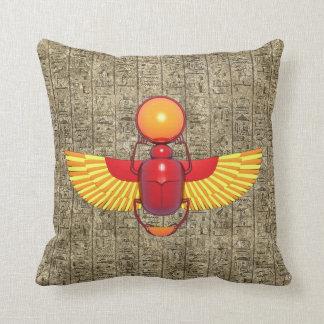 Egyptian Scarab Pillows