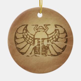 Egyptian Scarabaeus Fertility Magic Charms Christmas Tree Ornaments