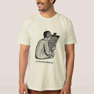 Egyptian Schoolboy - Antique Engraved Image Tee Shirt