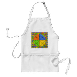Egyptian Seamless set fabric pattern Adult Apron