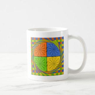 Egyptian Seamless set fabric pattern Classic White Coffee Mug