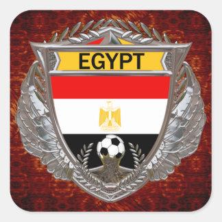 Egyptian Soccer Team Square Sticker