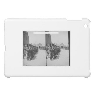 Egyptian soldiers in the Citadel, Cairo c.1900 iPad Mini Covers