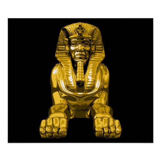 Egyptian Sphinx Poster
