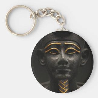 Egyptian Statue of Osiris Keychains