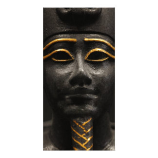 Egyptian Statue of Osiris Picture Card