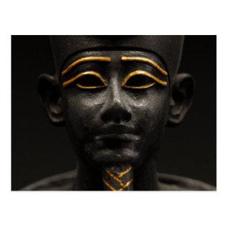 Egyptian Statue of Osiris Postcard