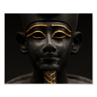 Egyptian Statue of Osiris Poster