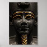 Egyptian Statue of Osiris Posters