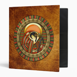 Egyptian Sun God Ra 3 Ring Binder