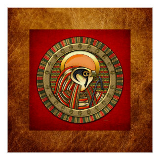 Egyptian Sun God Ra Poster