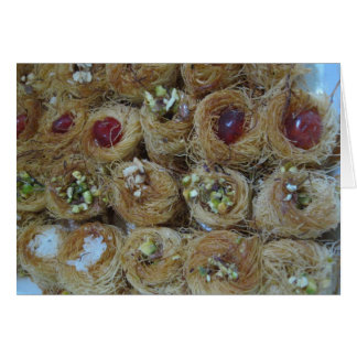 Egyptian Sweets Card