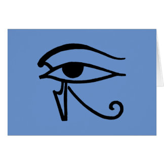 Egyptian Symbol: Utchat Card