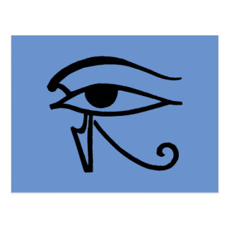 Egyptian Symbol: Utchat Postcard