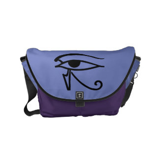 Egyptian Symbol: Utchat Small Messenger Bag