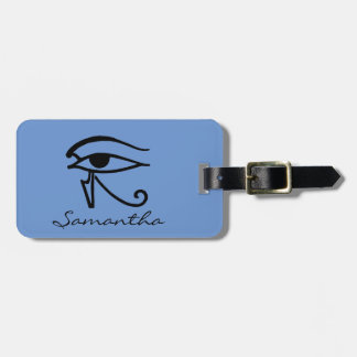 Egyptian Symbol: Utchat Tag For Luggage