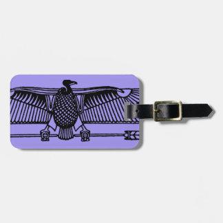 Egyptian Symbol: Vulture Bag Tag