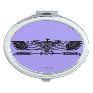 Egyptian Symbol: Vulture Makeup Mirror