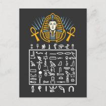 Egyptian Symbols Hieroglyphic Egypt Pharaoh Histor Postcard