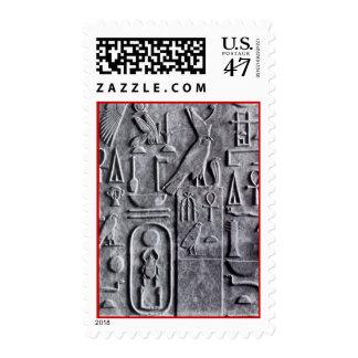 Egyptian Symbols Hieroglyphs Ankh Scarabs Stamps
