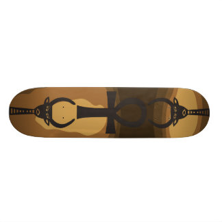 Egyptian Symbols Skateboard