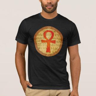 Egyptian T shirt - Ankh Cross - Dark Colors