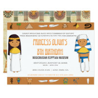 Egyptian Themed Party Invitation