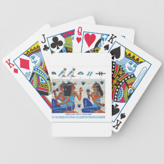 Egyptian tomb of Nakht Deck Of Cards