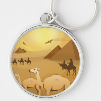Egyptian Travel Adventure Keychain